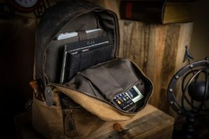 Designed custom Backpack for Cambridge Leather